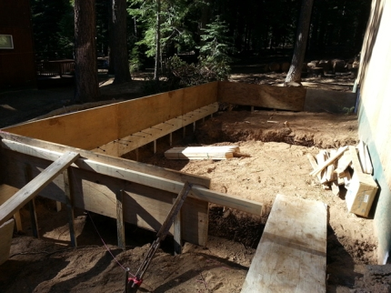 Building the garage forms