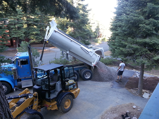 Gravel delivery