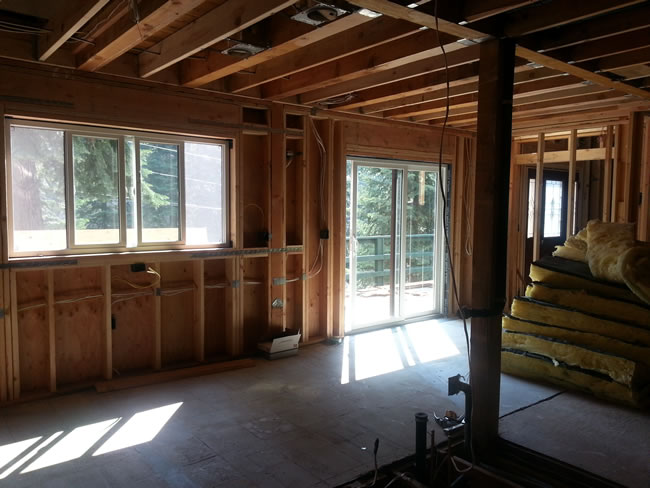All windows and doors are now in on the main level.