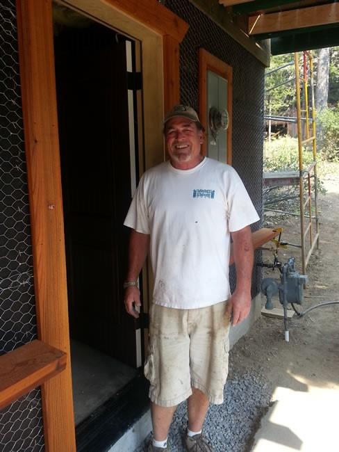 Bob near the ground floor entrance.