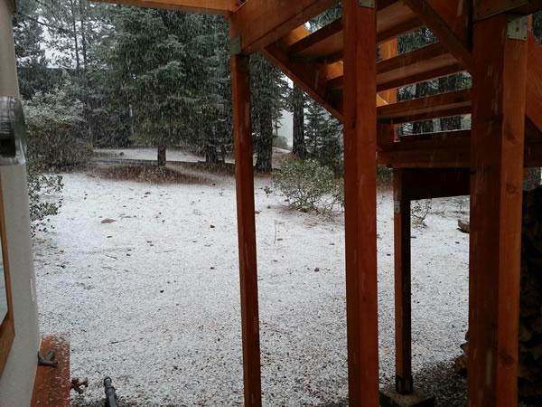 October 9th snow