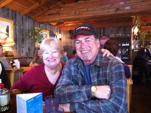 Relaxing at the Bridge Tender, Tahoe City, CA