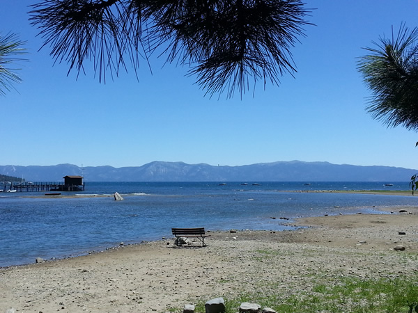 Lake Tahoe is already very low for June