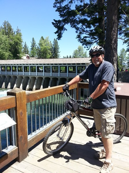 Bob at Fanny Bridge in Tahoe City