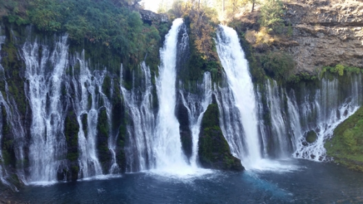 Burney Falls at ground level