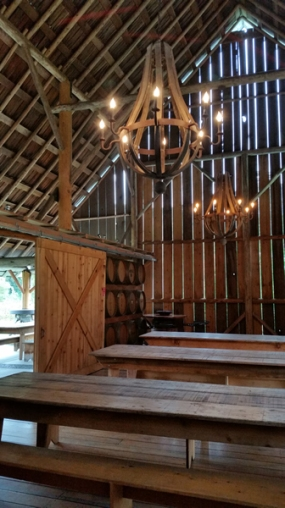 Restored barn for events