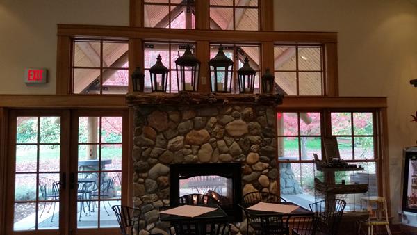 Beautiful tasting room with views