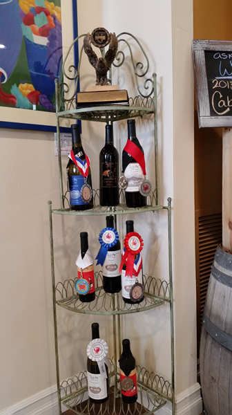 Medal wining wines