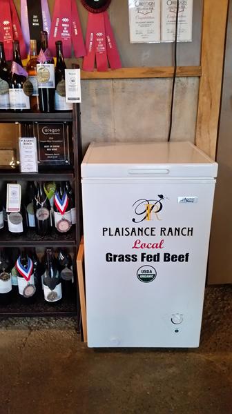 Award wining wines and beef