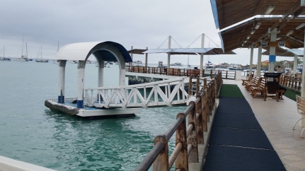 Town boat dock