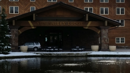 Sun Valley Lodge entrance